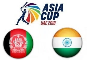 Afghanistan vs India Asia Cup UAE 2018