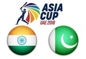 Asia Cup UAE 2018 India vs Pakistan