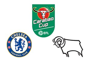 Carabao Cup Chelsea vs Derby County