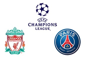 Champions League Liverpool vs PSG Paris Saint Germain