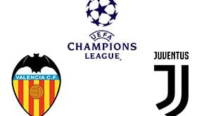 Champions League Valencia vs Juventus