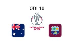 ICC Cricket World Cup Australia vs West Indies