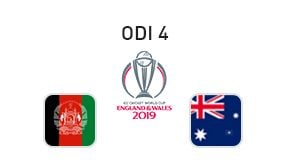 ICC Cricket World Cup Afghanistan vs Australia