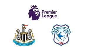 Premier League Newcastle vs Cardiff