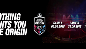 State of Origin 1 June 6 MCG QLD NSW