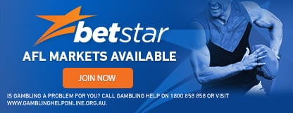 betstar afl betting