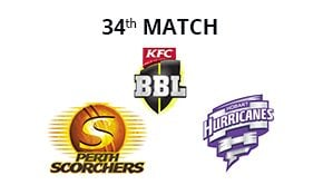 Prediction Perth Scorchers vs Hobart Hurricanes