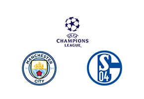 Champions League Round 16 Leg 2/2 Man. City vs Schalke 04