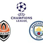 CL Shakhtar Donetsk vs Man City