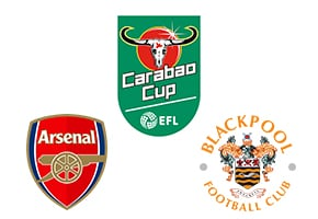 Carabao Cup Arsenal vs Blackpool