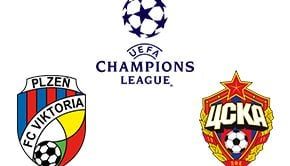 Champions League Plzen vs CSKA Moskva