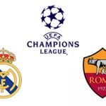 Champions League Real Madrid vs Roma