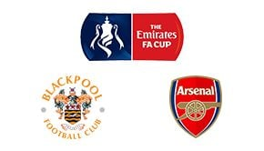 FA Cup Blackpool vs Arsenal