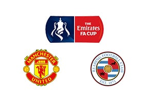 FA Cup Manchester United vs Reading