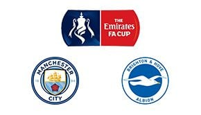 Man. City vs Brighton FA Cup
