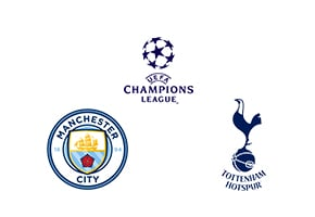 Manchester City vs Tottenham champions league quarter final