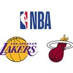 NBA Lakers vs Heat Week 5