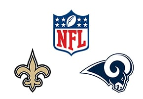 NFL Saints vs Rams Week 9