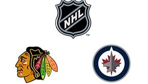 NHL Chicago Blackhawks vs Winnipeg Jets Week 9