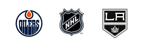 NHL Edmonton Oilers vs Los Angeles Kings Week 8