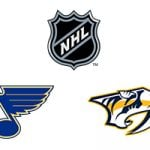 NHL St. Louis Blues vs Nashville Predators Week 8