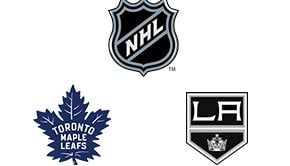 NHL Toronto Maple Leafs vs Los Angeles Kings Week 7