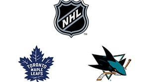 NHL Toronto Maple Leafs vs San Jose Sharks Week 7