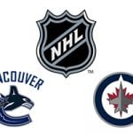 NHL Canucks vs Jets