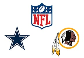 NFL Dallas Cowboys Vs Washington Redskins