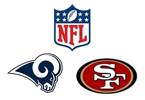NFL Los Angeles Rams Vs San Francisco 49ers