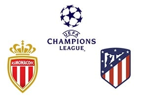 Champions League Monaco vs Atletico Madrid