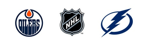 NHL Edmonton Oilers vs Tampa Bay Lightning Week 6