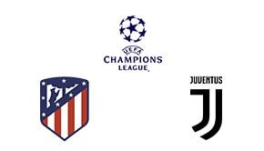 Champions League Round 16 Leg 1/2 Atlético Madrid vs Juventus