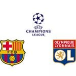 Champions League Round 16 Leg 2/2 Barcelona vs Lyon