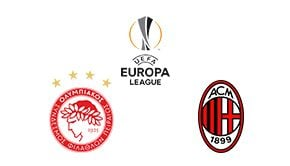 UEFA Europa League Olympiacos vs Milan