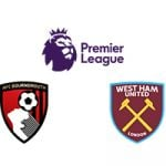 Premier League Bournemouth vs West Ham