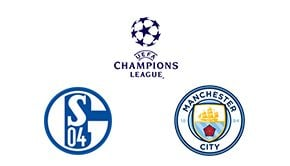 Champions League Round 16 Leg 1/2 Schalke 04 vs Man. City