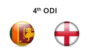 Sri Lanka vs England 4th ODI
