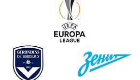 UEFA Europa League Bordeaux vs Zenit
