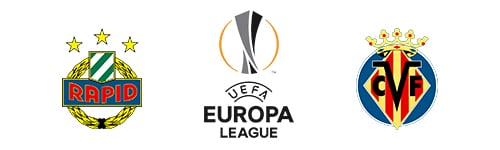 UEFA Europa League Rapid Wien vs Villarreal