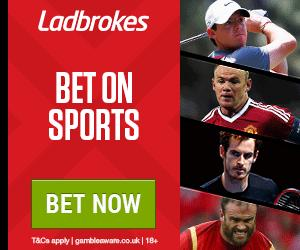 Ladbrokes - Get Up to £50 In Free Bets