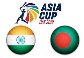 Asia Cup UAE 2018 India vs Bangladesh