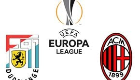 UEFA Europa League Dudelange-vs-Milan