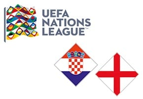 Nations League Croatia vs England