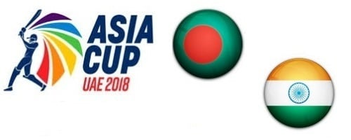 Bangladesh vs India Asia Cup UAE 2018