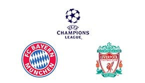 Champions League Round 16 Leg 2/2 Bayern vs Liverpool