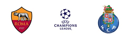 Champions League Round 16 Leg 1/2 Roma vs Porto