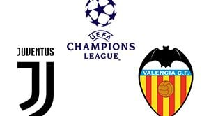 Champions League Juventus vs Valencia