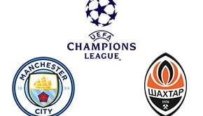 Champions League Man. City vs Shakhtar Donetsk