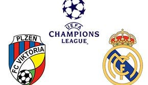 Champions League Plzen vs Real Madrid